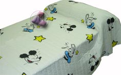 Copriletto MICKEY COMIC AZUL