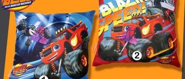 Cojín completo Blaze and the monster machines