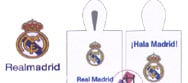 Poncho toalla REAL MADRID