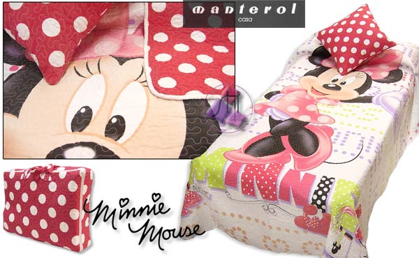 Boutí + funda de coixí MINNIE MOUSE 563