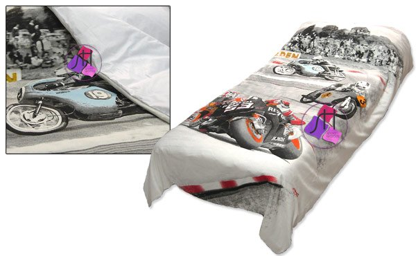 MOTO GP 2 piece set, duvet cover :: Bed linen from 1,00