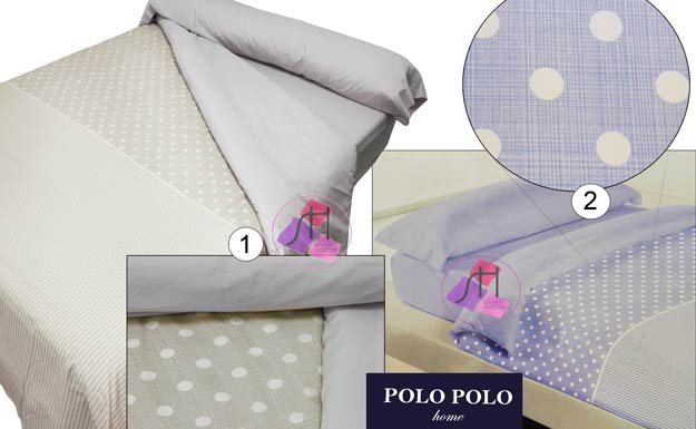 Duvet Cover 3 pieces SHASA by Polo Polo :: Bed linen from 1,00