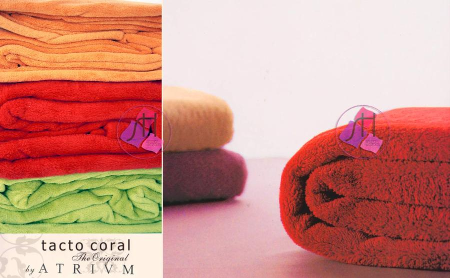 Blanket TOUCH CORAL 170 X 240 - Atrivm