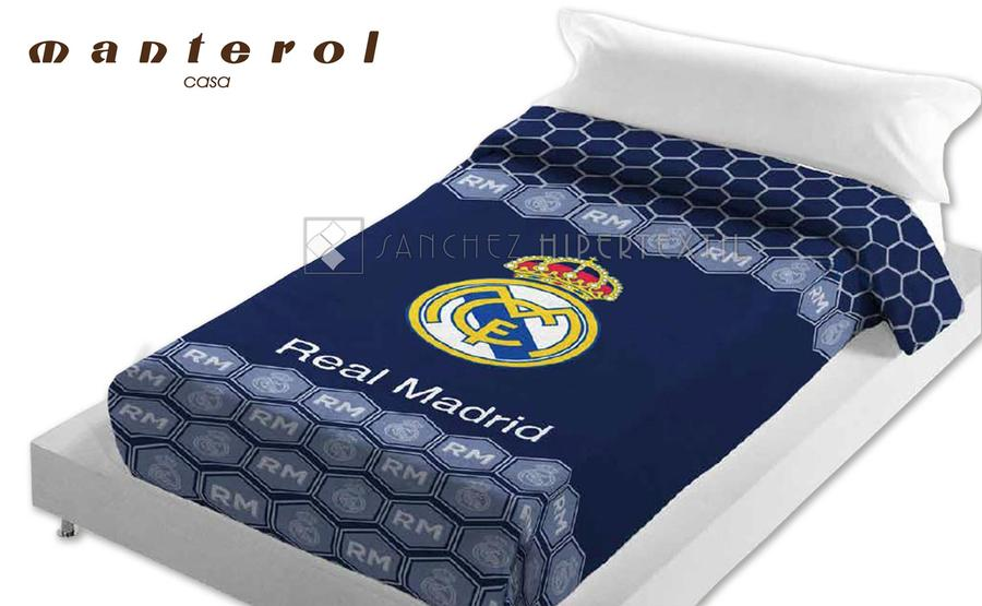 Blanket Vip 40 REAL MADRID By Manterol Bed Linen From 4040 Cool Real Madrid Throw Blanket