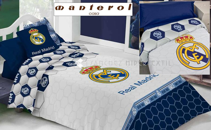 Duvet cover Real Madrid 258 by Manterol :: Bed linen from 1,00