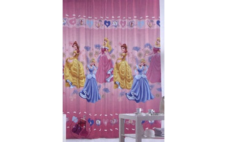 Cortina princesas golden con trabillas by atrivm - Cortinas de princesas ...