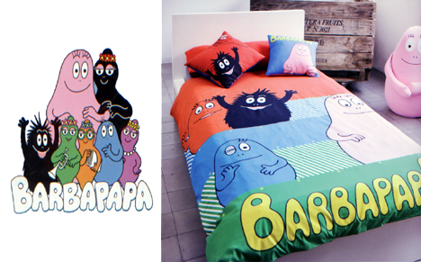 Funda nòrdica Barbapapa