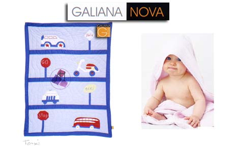 Colcha Mod: Taxi by Galiana Nova