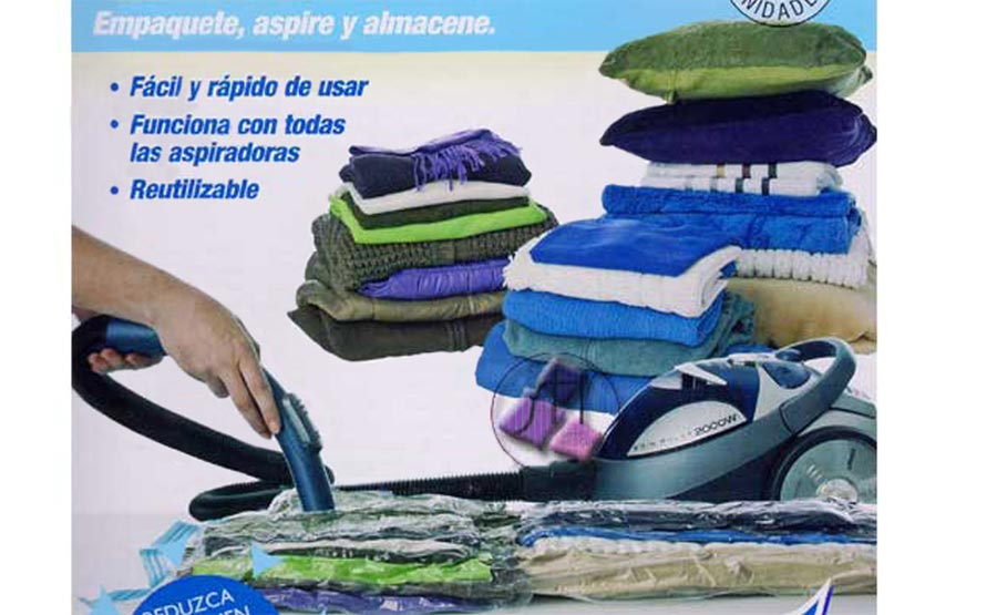 Saco-space-saving Pack 2 unidades