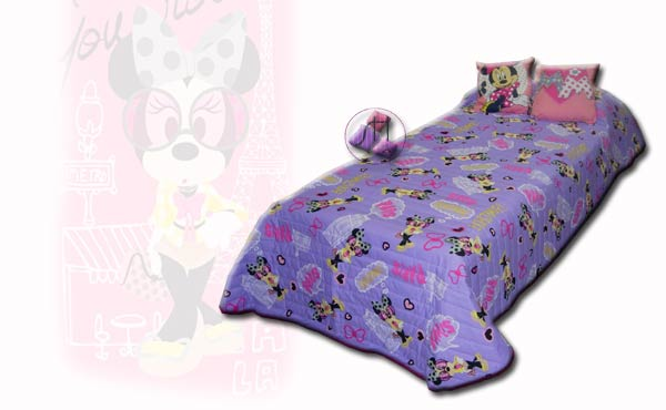 Copriletto Disney MINNIE PARIS
